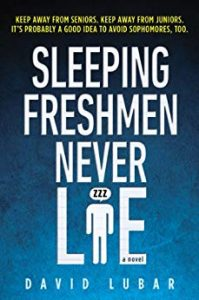 Sleeping Freshmen Never Lie book cover