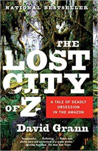The Lost Cit of Z book cover