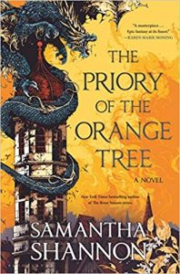 The Priory of Orange Trees book cover