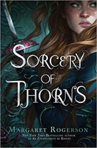 A Sorcery of Thorns book cover