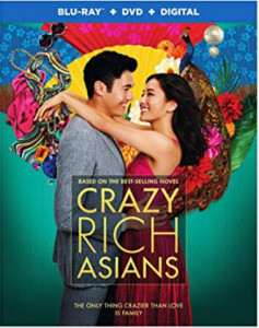 Crazy Rich Asians DVD cover