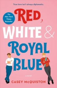 Red, White and Royal Blue book cover