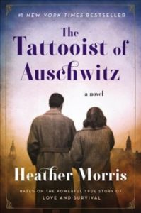 The Tattooist of Auschwitz book cover