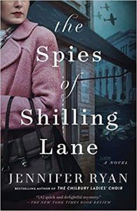 Spies of Shilling Lane book cover