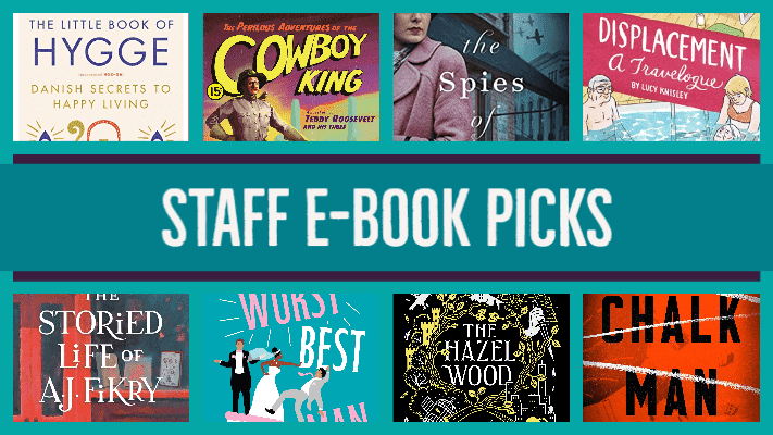 Staff E-book Picks collage