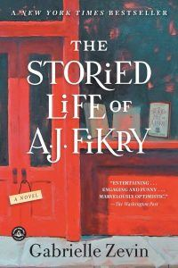 Storied Life of AJ Fikry book cover