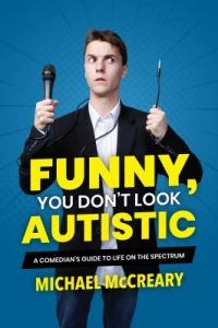 funny you dont look autistic book cover