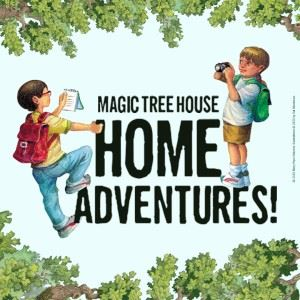 Magic Tree House-Home-Adventures book cover