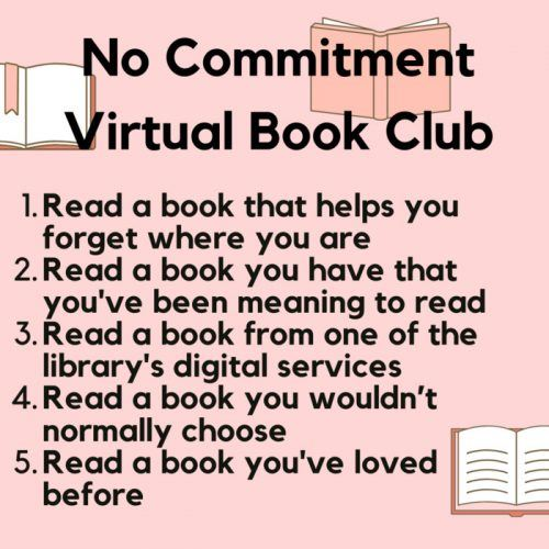 No Commitment Book Club categories