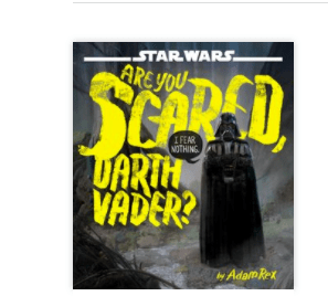 Are you scared, Darth Vader? audiobook cover