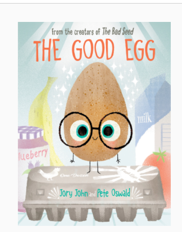 The Good Egg book cover