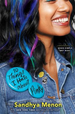 10 Things I Hate About Pinky book cover