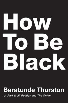 How to be black book cover