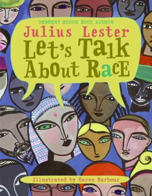 Let's talk about race book cover