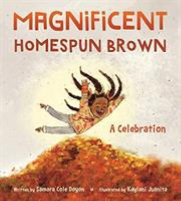 Magnificent homespun brown - a celebration book cover