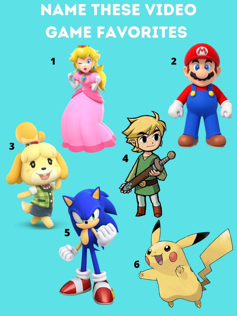 name these video game favorites