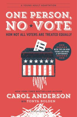 One person, no vote - how not all voters are treated equally book cover