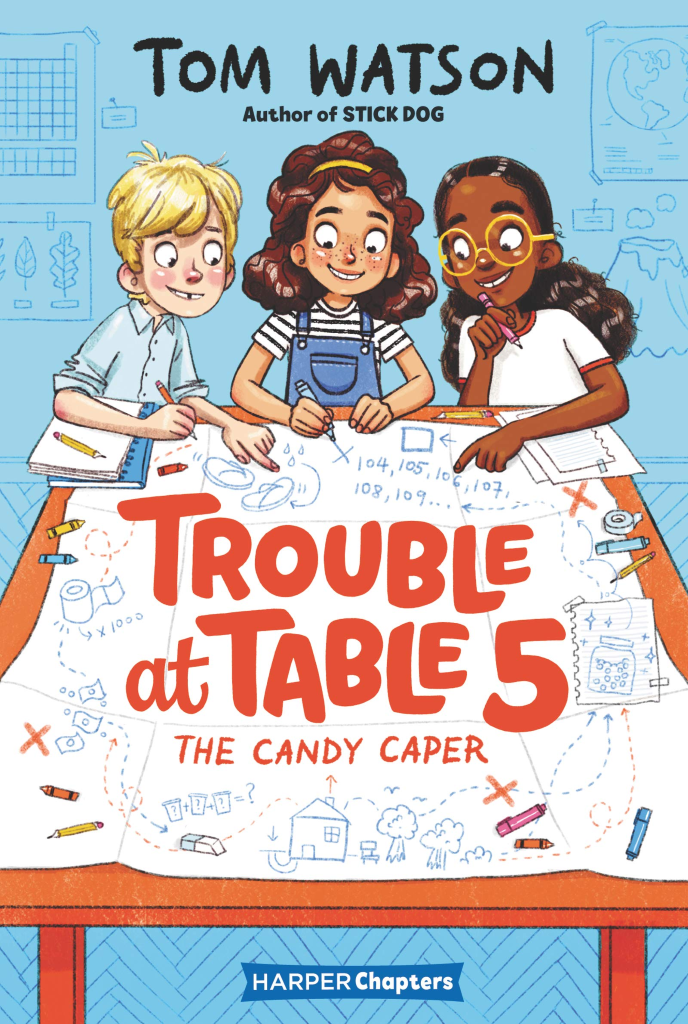 Trouble at Table 5: The Candy Caper book cover