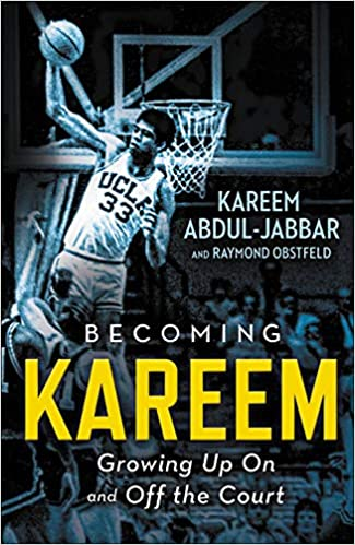 becoming kareem: growing up on and off the court book cover