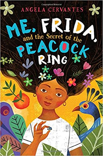 me, Frida, and the secret of the peacock ring book cover