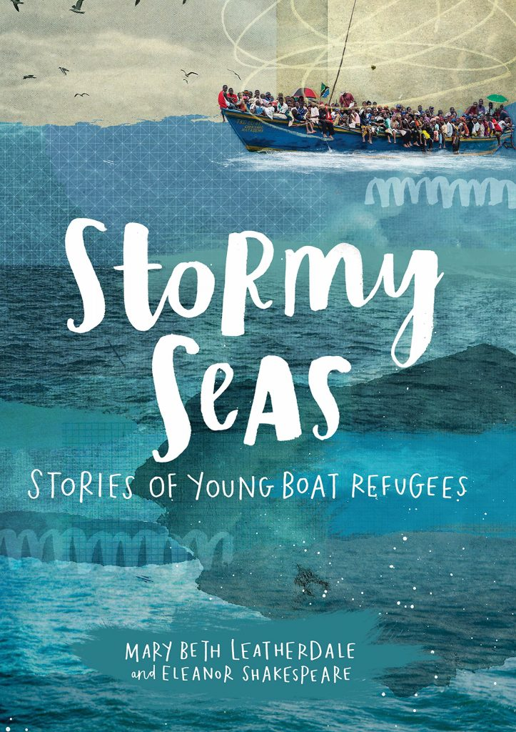 stormy seas: stories of young boat refugees book cover