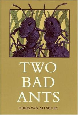 Two Bad Ants book cover