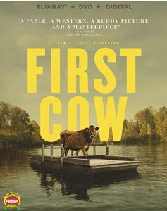 First Cow DVD cover