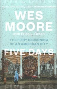 Five Days: The Fiery Reckoning of an American City book cover