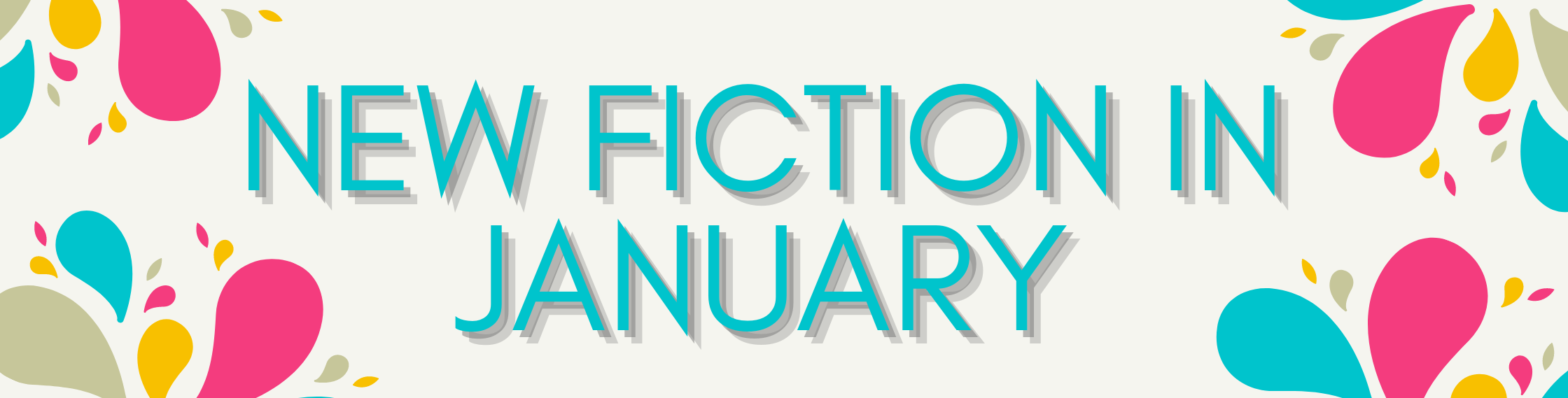 New Fiction in January
