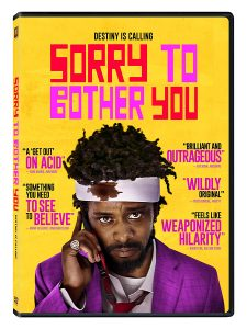 Sorry to Bother You DVD cover