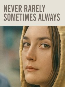 Never Rarely Sometimes Always DVD cover