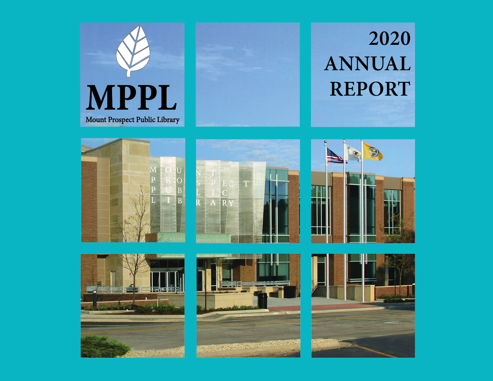 Mount Prospect Public Library 2020 annual report cover