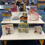 June is Pride month youth book display