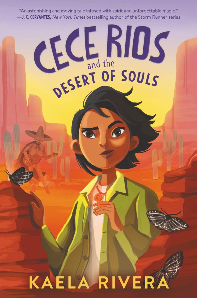Cece Rios and Desert of Souls book cover