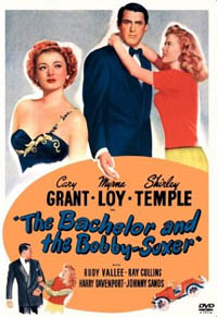 The Bachelor and the Bobby-Soxer DVD cover