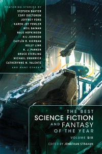 The Best Science Fiction and Fantasy of the Year, Volume 6 book cover