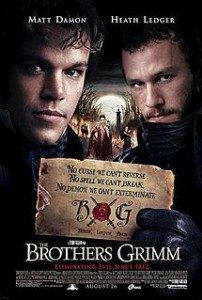 Brothers Grimm DVD cover