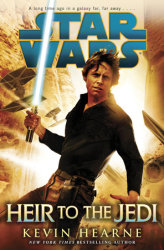 Heir to the Jedi book cover