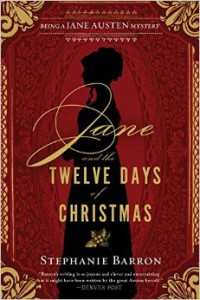 Jane and the Twelve Days of Christmas book cover