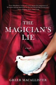 The Magician's Lie audiobook cover