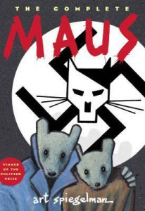 the complete Maus book cover