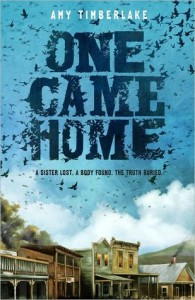 One Came Home book cover