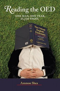 Cover of Reading the OED