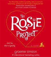 Rosie Project audiobook cover