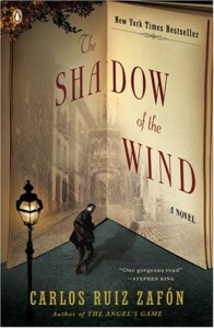 Shadow of the Wind book cover
