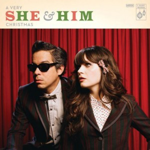A Very She and Him Christmas album cover