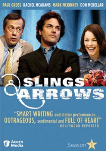 Slings and Arrows dvd