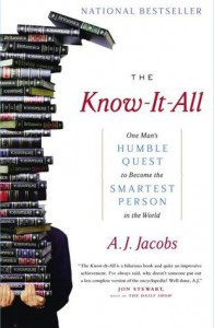 Cover of The Know It All