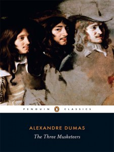 Three Musketeers book cover