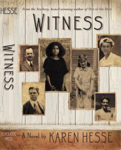 Witness book cover